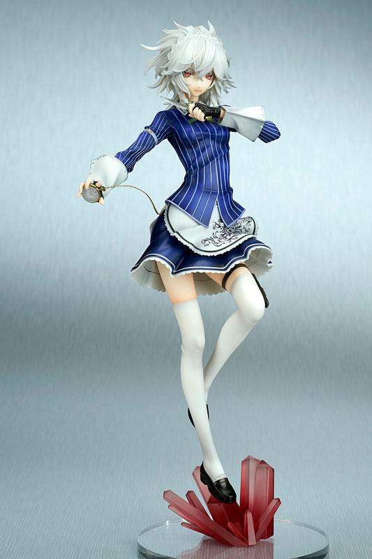 Figurine Izayoi Sakuya – Touhou Project,  Koumajou Densetsu: Akeiro no Koukyoukyoku