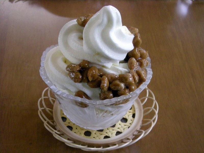 Glace au Natto